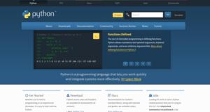 python公式HP